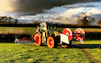 John clements contracting ltd with Slurry spreader/injector at Camomile Way