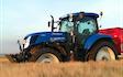 Mariesminde landbrug med Gødningsspreder ved Roslev