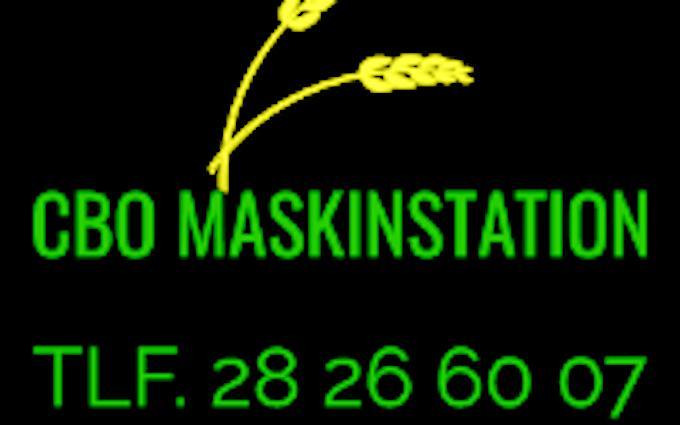 Cbo maskinstation med Sortjordsnedfælder ved Hårlev