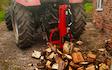 Oakes  with Log splitter at Belper