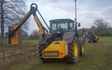 Berkshire agripower ltd with Hedge cutter at Chieveley