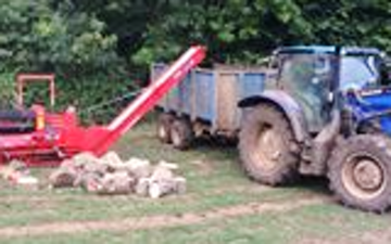 E c shere contracting  with Hedge cutter at United Kingdom