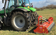 A j roberts farm & garden services with Verge/flail Mower at Target Close