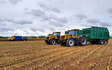 Richard taylor travel  with Silage/grain trailer at Saint Ippolyts