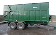 S & g agri with Silage/grain trailer at Kirstead Green