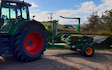 Clarke farming and contracting  with Wrapper at United Kingdom