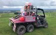 Godfrey pest management ltd with Self-propelled sprayer at Loburn