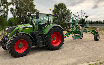 D.j. o'neill agri contracts with Rake at Gwernaffield