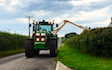 Toby wicks services with Hedge cutter at United Kingdom