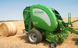 Darsdale contracts limited  with Round baler at Ringstead