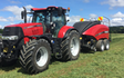 Chamberlain agriculture ltd with Large square baler at Sheffield