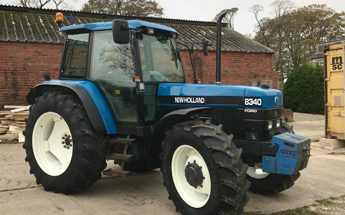 Tooke's agricultural services  with Tractor 100-200 hp at Bentham
