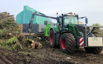 Cpw arb tree services  with Wood chipper at United Kingdom