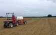 Galloway farms with ATV sprayer at United Kingdom