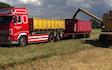 Br autotransport med Container ved Korsør