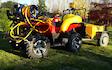 Aa performance services ltd (0272095026) with ATV sprayer at Elgin