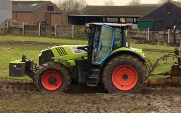 Jrh contracting with Tractor 100-200 hp at United Kingdom
