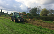 S.t.anderton agricultural contracting  with Hedge cutter at Chorley