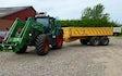 Sp maskinudlejning med Traktor med frontlæsser ved Viborg