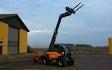 Gangergaarden´s maskinstation a/s med Teleskoplæsser ved Høng