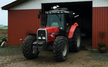 Storvang's markservice med Traktor 101-200 hk ved Hobro