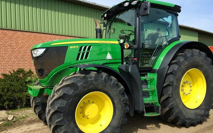 Bimpel med Traktor 201-300 hk ved Tønder
