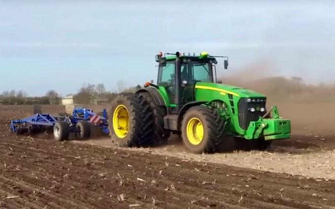 Bimpel med Traktor over 300 hk ved Tønder
