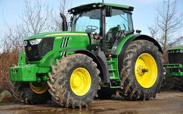 Bimpel med Traktor 101-200 hk ved Tønder