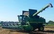 Rodstedgaarde markdrift med Mejetærskning ved Suldrup