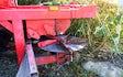 Flårup jordbrugsservice med Kalkspreder ved Holeby