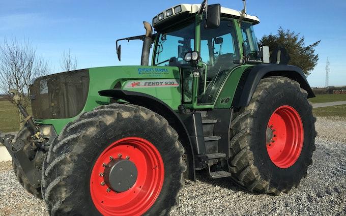 Jensen's service med Traktor 201-300 hk ved Hjørring