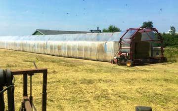 Iwersen agro med Indpakning/Tildækning ved Tinglev