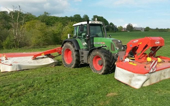 Havemark maskinservice med Skårlægger ved Haslev