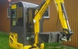 Jørgen sørensen´s maskinstation med Minigraver ved Store Heddinge