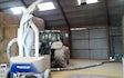 Døllefjelde maskinstation a/s med Kornsuger ved Kettinge