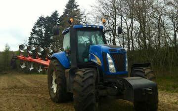 Andersen service med Traktor 201-300 hk ved Tylstrup
