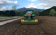 Vuletich contracting  with Power harrow at Pakotai