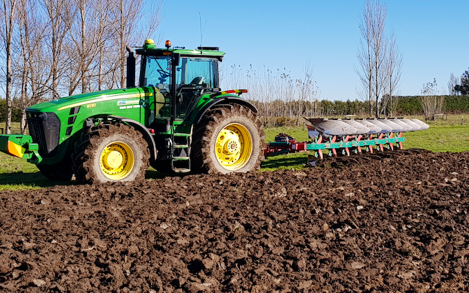 Duckmanton ag limited  with Plough at Doyleston