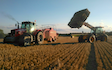 Hadfieldsmith @ sons with Large square baler at United Kingdom