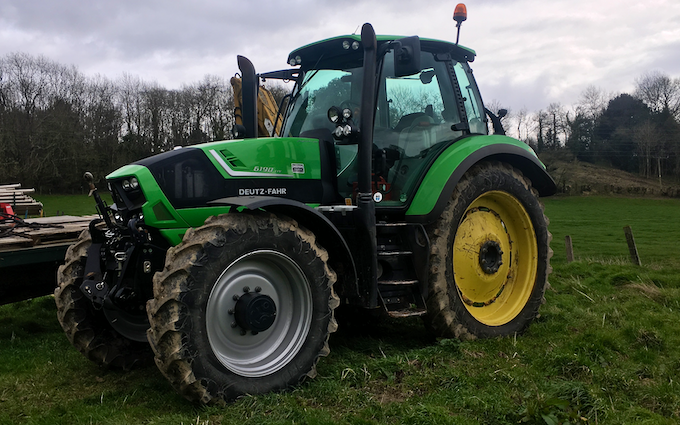 A j roberts farm & garden services with Tractor 100-200 hp at Target Close