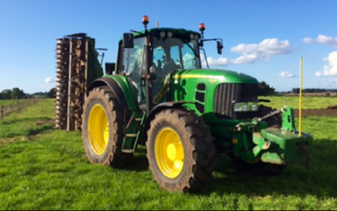 M jones agri services with Tractor 100-200 hp at United Kingdom