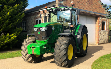 H s contracts  with Tractor 201-300 hp at Thurston