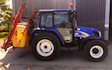 Bradley goss paddock & agri services with Tractor-mounted sprayer at West Wickham