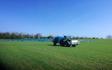 Ih grave- og landbrugsservice med Trailersprøjte ved Klemensker