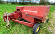 Spurline engineering ltd with Small square baler at Wylye