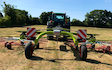 Edwards agricultural services  with Rake at Chorley