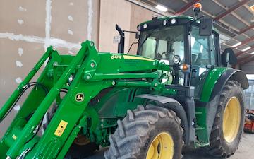 Steen kruse med Traktor 101-200 hk ved Rødby