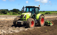 Kalin contracting ltd with Power harrow at Manaia