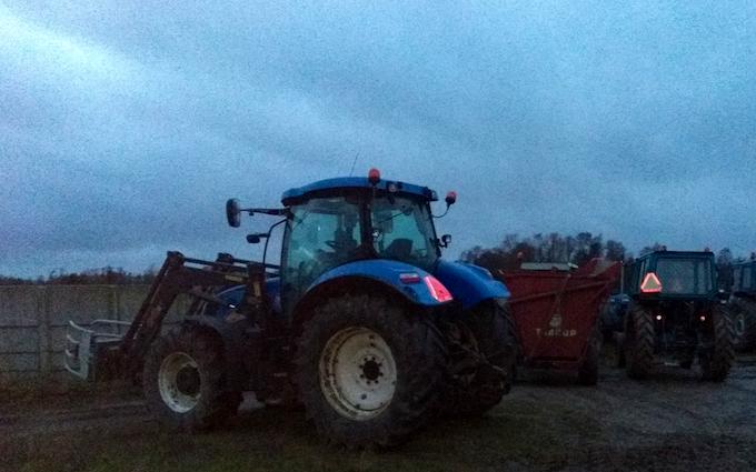 Kp maskinstation  med Traktor 101-200 hk ved Jyderup