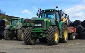 Jb agricultural services with Tractor 100-200 hp at Bolster Moor